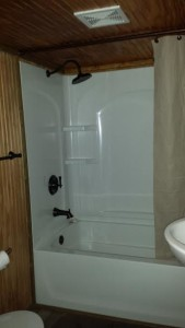 Full size shower
