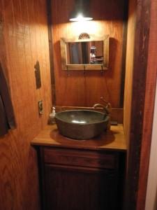 Shady Pines stone sink