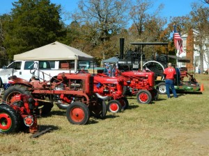 Tractors in the Show